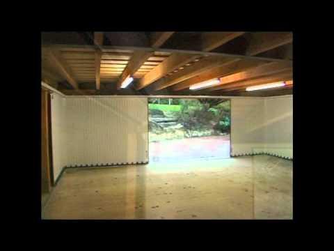 The Vertico sliding garage door