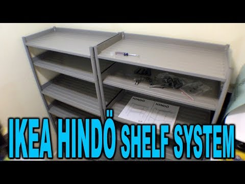 IKEA Hindö Shelving System - Assembly and Review - Clueless Dad