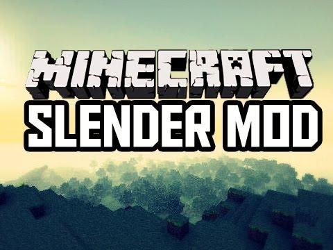 Minecraft Slender Mod