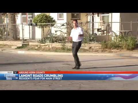 Crumbling roads leave Lamont residents feeling ignored