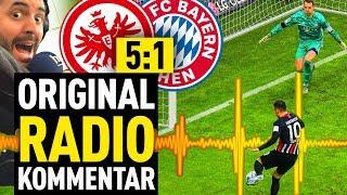 Eintracht Frankfurt - FC Bayern: alle Tore mit original Radio-Kommentar! | FUSSBALL 2000