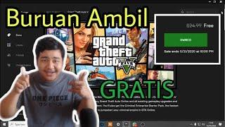 CARA D0WNLOAD / CLAIM GTA 5 V GRATIS DI EPIC GAMES