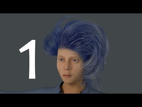 Blender For Noobs - How to create hair in Cycles - part 1