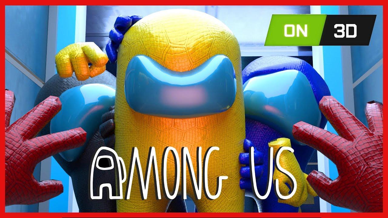 AMONG US 3D ANIMATION - THE IMPOSTOR LIFE #1