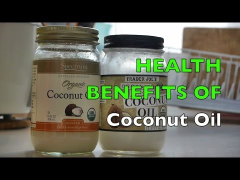 Health Benefits of Coconut Oil & Uses For Unrefined Organic Extra Virgin Oils on Hair / Skin / Face