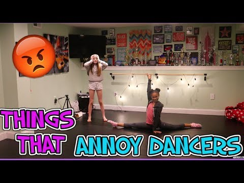THINGS THAT ANNOY DANCERS!! | Carissa Campbell