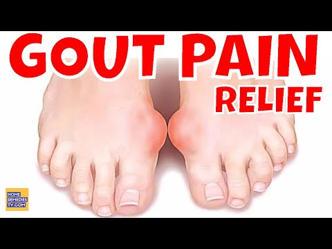 6 NATURAL Ways to REDUCE GOUT PAIN, GOUT ATTACK Naturally. FAST GOUT PAIN in KNEE Relief & PREVENT