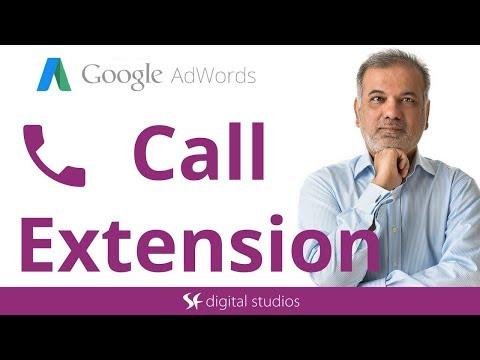 Call Extension Google AdWords Tutorial