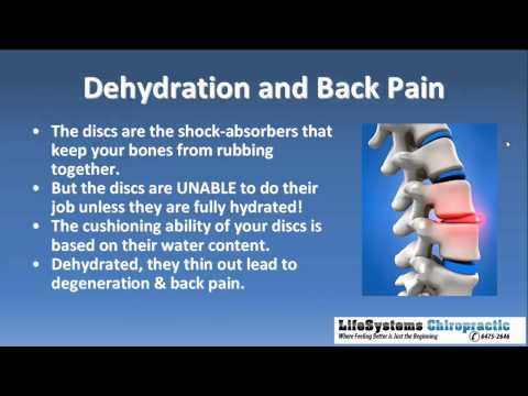 Dehydration Can Cause Back Pain