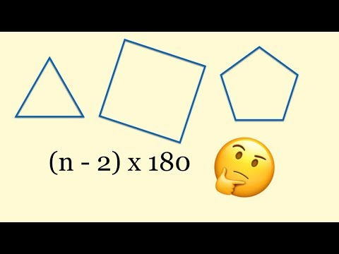 Angles in Polygons | How to find the sum of angles in a polygon