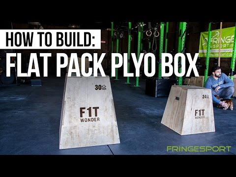 How to build a Flat pack Plyo Box