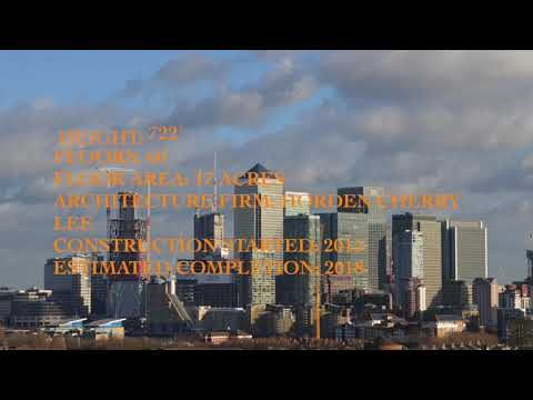 UPDATE! Newfoundland | Canary Wharf 220m 60 fl January 2018