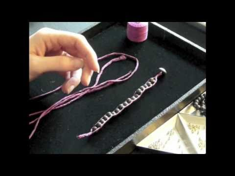 How to Make a Ladder Bracelet Part 1 of 2
