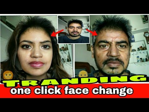 one click face change