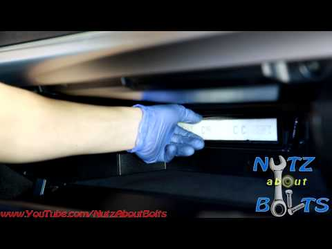 2012-2016 Toyota Camry cabin air filter change