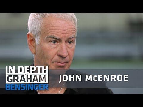 John McEnroe on parenting six kids