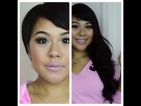 How to clip in hair extensions for very short hair/ MyPinkVanity and HairExtensionSale
