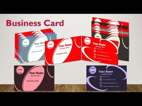 How to design good business card on word | ChaoKhmer+