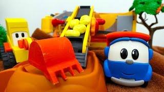 #LeoJunior und #MaxderBagger backen Brot – #Lehrreiches Video mit #Spielzeugautos auf Deutsch