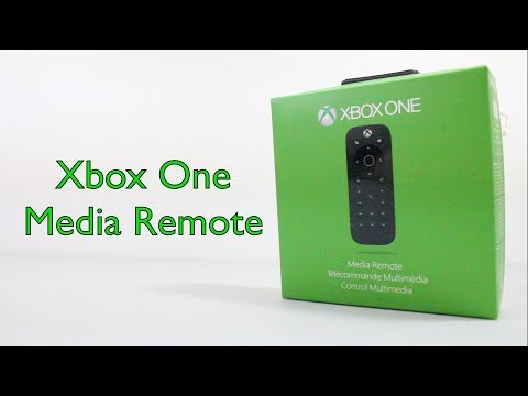 Xbox One Media Remote Unboxing