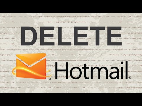How to delete Hotmail account (Update)
