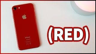 iPhone 8 PRODUCT(RED) - UNBOXING e PRIME IMPRESSIONI!