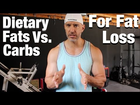 Dietary Fat Vs Carbs For Fat Loss Study