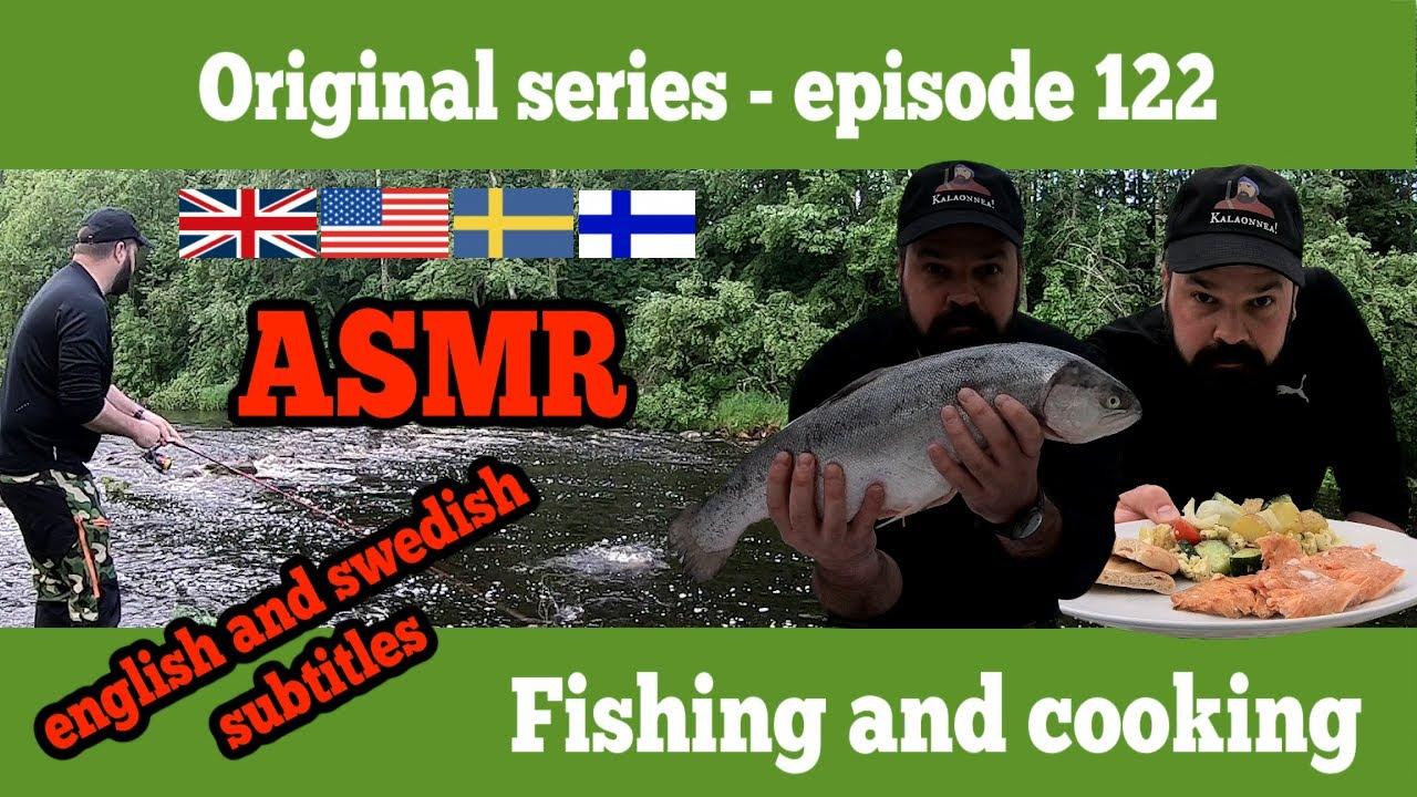 Episode 122 - ASMR - Fishing and cooking - season 2020/2021