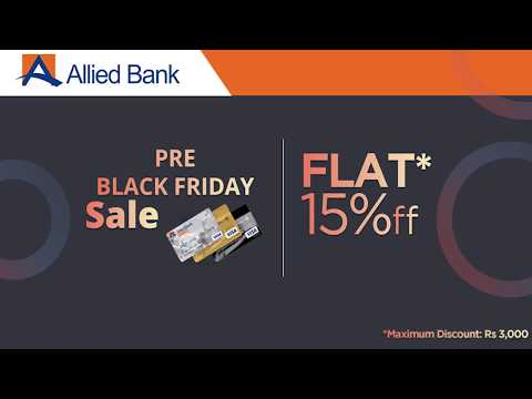How to Avail discounts using Allied Bank Card on Black Friday 2017 - Yayvo.com