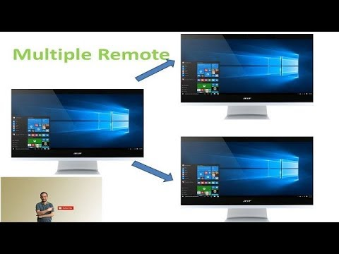 [Hindi] Allow Multiple Remote Desktop Session RDP - Windows 10