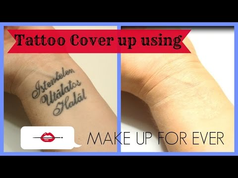 Tattoo Cover Up Using Make Up For Ever Products