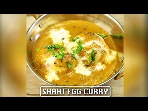 How To Make Shahi Egg Curry | Homemade Shahi Egg Curry Recipe | Quick & Easy Egg Curry Recipe