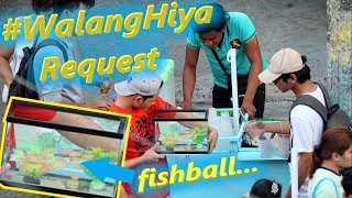 Bumili ng FISHBALL at ilagay sa Aquarium (Prank) | #WalangHiya Request