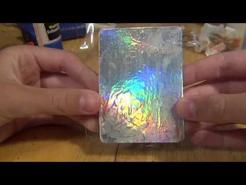 MAKE YOUR OWN HOLOGRAPHIC CARDS!!!!