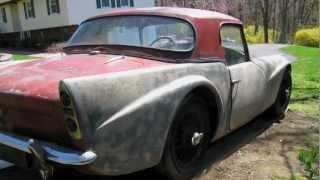 Restoration Blog: 1962 Daimler SP250 - Jay Leno's Garage