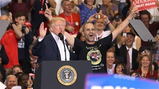 Trump Invites Supporter On Stage at Florida Rally