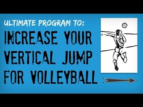 How to Increase Vertical Jump to Spike a Volleyball | Jump Higher to Improve Volleyball Spike (Fast)