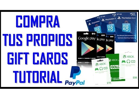 PSN USA y Ps Plus Xbox PS4 Google Play Tuto Compra online Gift Card Redeem Codes PayPaL 2018