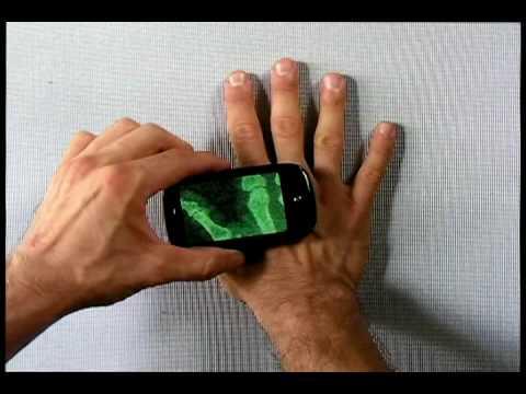 Palm Pre X-Ray Camera App Demo