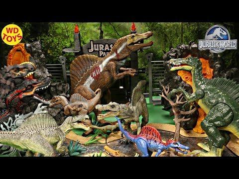 New 16 Spinosaurus Dinosaur Toys Giant Surprise Box  Jurassic World, Jurassic Park Unboxing