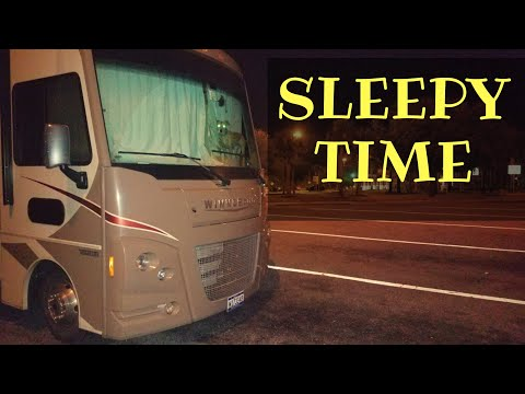 How To Get A Good Night Sleep At A Rest Area Rv Full Time