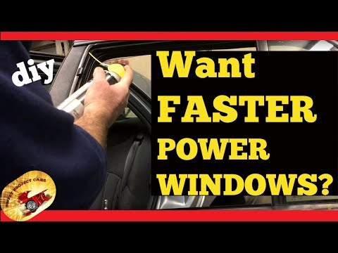 How To:  Make your Power Windows FASTER!