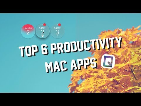6 Productivity Apps for Mac | COLLAB with MacSquare