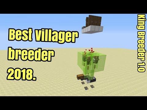 Minecraft 1.12.2 Best Villager breeder Tutorial 2018 - Cheap and EASY (King Breeder 1.0)
