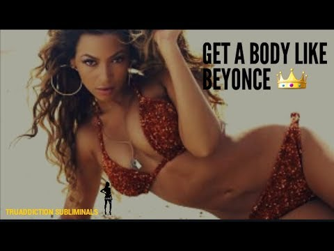 Get a body like BEYONCE 😍 Subliminals Affirmations ~TruAddiction Subliminals💋