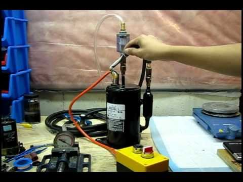 DIY Vacuum Pump - Repurposing refrigeration compressors
