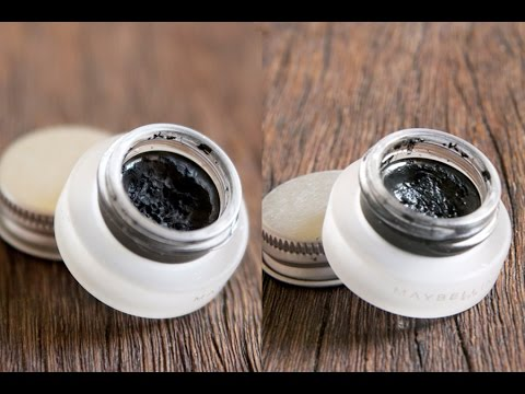 How to make your own DIY Gel eyeliner at home natural organic easy cheap inexpensive affordable fun