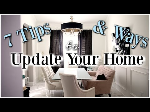 7 Ways To Update Your Home - MissLizHeart