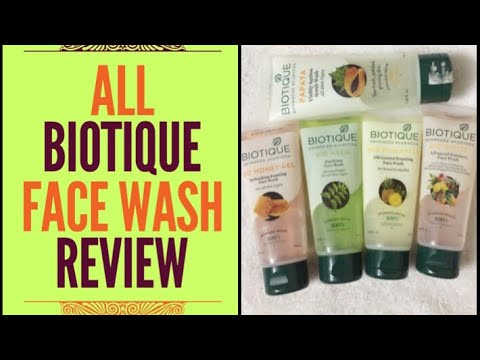 Biotique Face Wash Review | Biotique Face Wash For All Skin Types| Chemical Free Paraben Free
