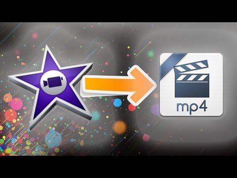 How To Export In Mp4 From Imovie 2017!! WORKING!
